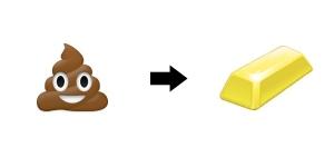 poo-gold